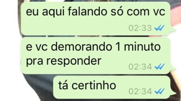 Whatsapp Business tempo de resposta
