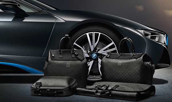 BMW e Louis Vuitton carro e bolsas